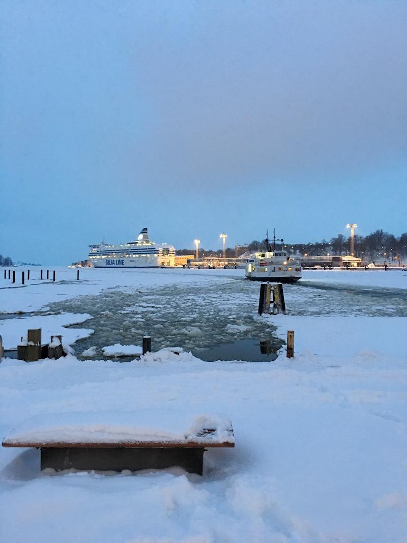 Helsinki's harbor