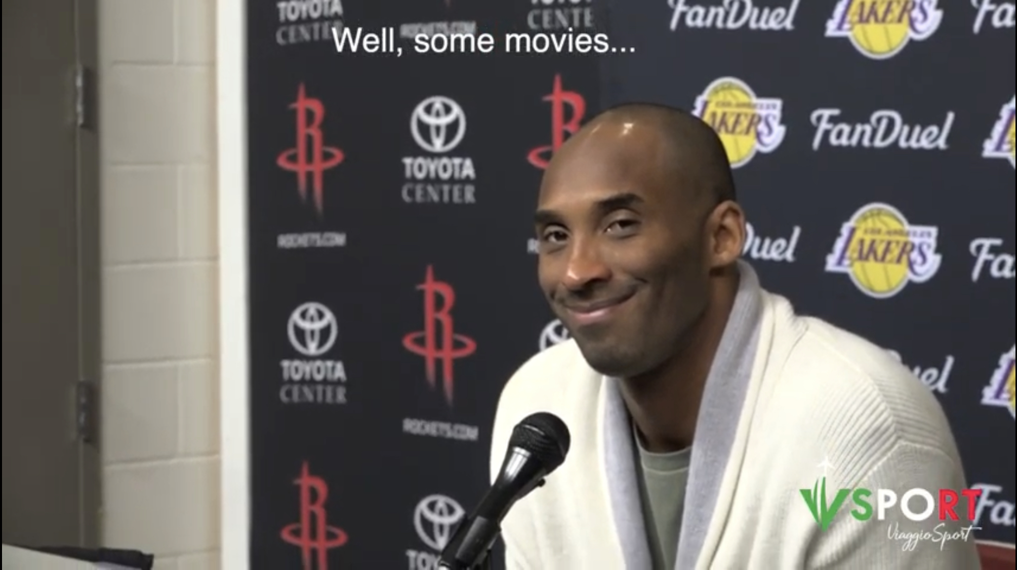 Kobe's Secret Scoop In Italian: My Next Job? Movies | USA